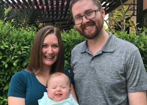 Photo of Jeremy & Adrienne family